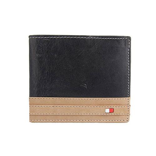 78bbf8db5 Pánska kožená peňaženka WILD čierna + box